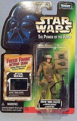 Star Wars Endor Rebel Soldier with Survival Backpack and Blaster Rifle Action Figure by Kenner