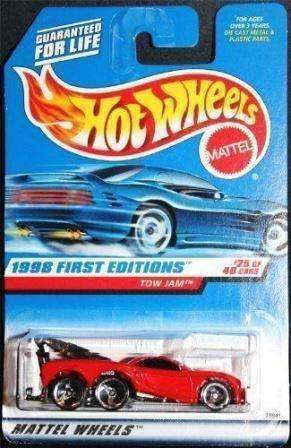 1998 Hot Wheels First Editions Tow Jam Car