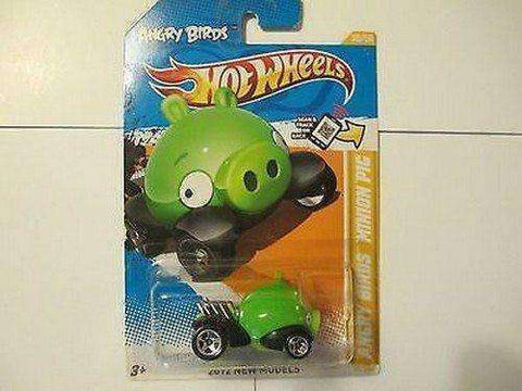 2012 Hot Wheels New Models Angry Birds Minion Pig Car by Mattel