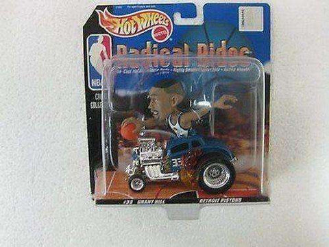 Grant Hill Detroit Pistons Hot Wheels Radical Rides