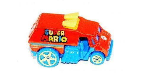 2015 Hot Wheels Super Mario Hot Wheels Cool-One Street Sweeper by Mattel