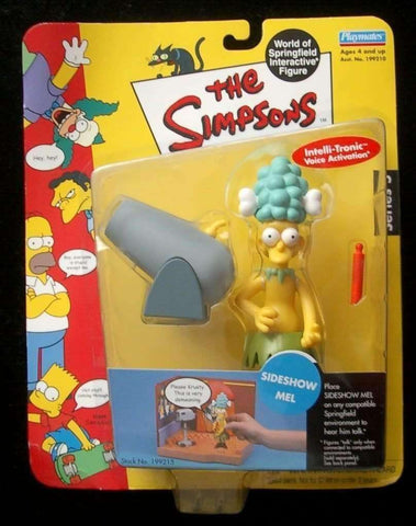 The Simpsons Sideshow Mel World of Springfield Action Figure Playmates New in Package