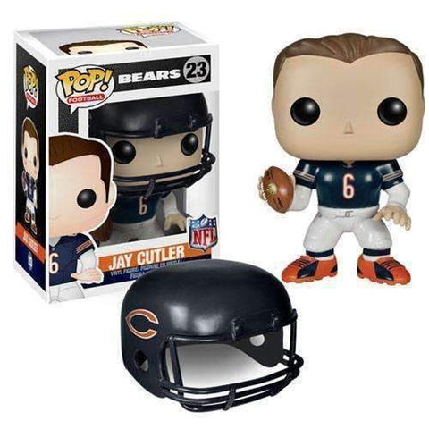 Jay Cutler Chicago Bears Pop! Football Vinyl Figure by Funko