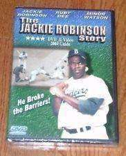 The Jackie Robinson Story Los Angeles Dodgers DVD 2001 new in package