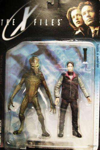 The X-Files Agent Mulder & Alien 1998 Action Figure by McFarlane Toys NIB NIP