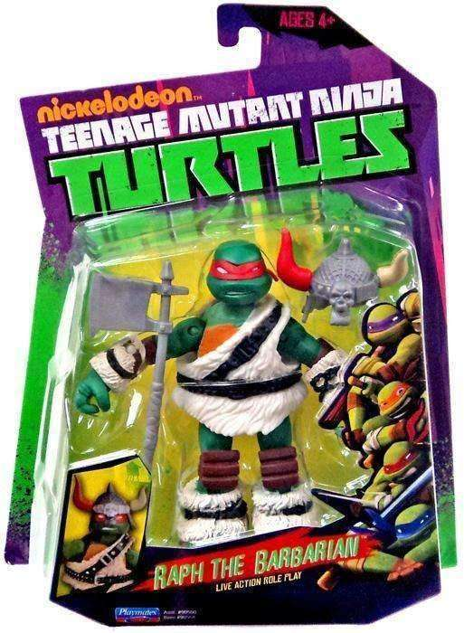 Teenage Mutant Ninja Turtles Raph the Barbarian Action Figure NIB Playmates TMNT NIP Raphael