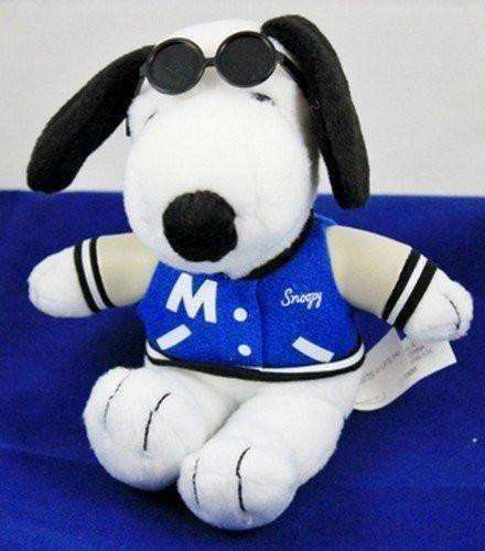 Snoopy Metlife Varsity Jacket with Sunglasses Promotional Doll