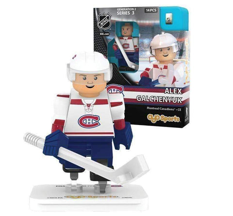 Alex Galchenyuk Montreal Canadians Generation 2 Series 2 NHL Player mini figure by Oyo Sports