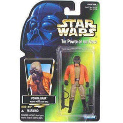 Star Wars Force Ponda Baba with Blaster Pistol and Rifle Action Figure by Kenner