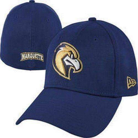 Marquette Golden Eagles New Era 39Thirty hat new with stickers MU Rah Rah