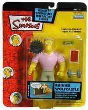 The Simpsons Rainier Wolfcastle World of Springfield Action Figure Playmates McBain New in Package