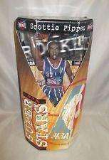 Scottie Pippen Houston Rockets NBA Super Stars Action Figure Upper Deck NIB 1999