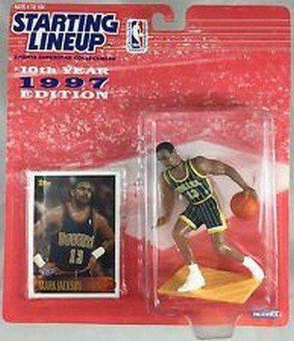1997 Mark Jackson Indiana Pacers Starting Lineup NBA Action Figure Kenner NIB