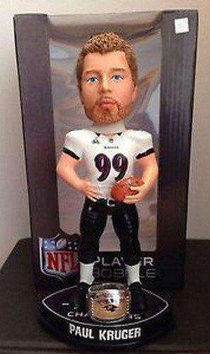 Paul Kruger Baltimore Ravens Super Bowl XLVII Champions Bobblehead by Forever Collectibles