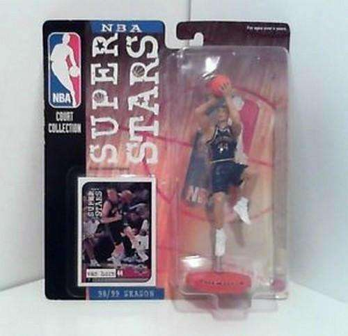 Keith Van Horn New Jersey Nets NBA Superstars Figure NIB Court Collection NIP
