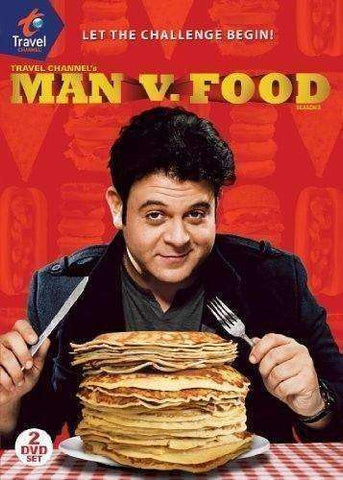 Man v. Food: Season 2 DVD Adam Richman 2010, 2-Disc Set new in original packaging