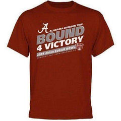 Alabama Crimson Tide 2014 BCS Sugar Bowl Bound 4 Victory t-shirt by Box Seat Clothing