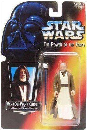 Star Wars Ben Obi Wan Kenobi with Lightsaber and Removable Cloak Action Figure by Hasbro