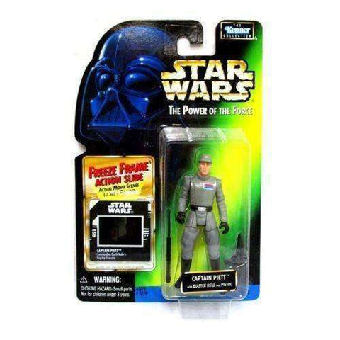 Star Wars Captain Piett with Blaster Rifle and Pistol Action Figure with Freeze Frame