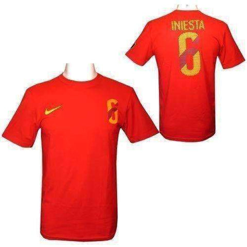Andreas Iniesta Nike Hero number 6 t-shirt by Nike