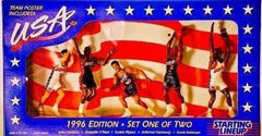 1996 Starting Lineup Team USA Basketball Dream Team 2 action figure set
