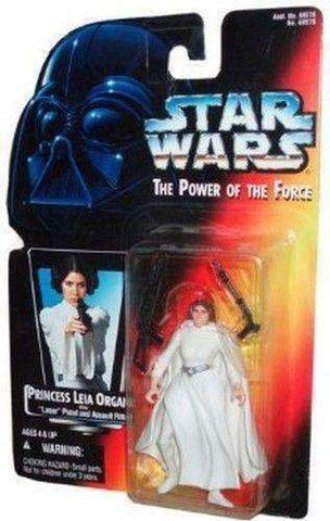 "Star Wars Princess Leia Organa with ""Laser"" Pistol and Assault Rifle! Action Figure"