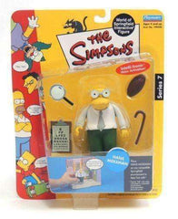 The Simpsons Hans Moleman World of Springfield Interactive Figure by Playmates