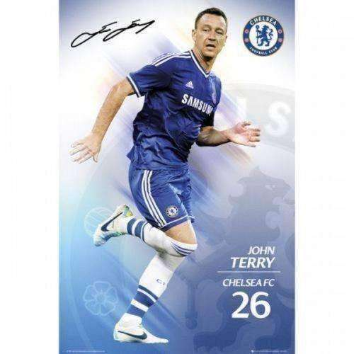 John Terry Chelsea FC Poster English Premier League new Blues EPL England soccer