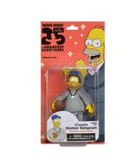 Coach Homer Simpson 25 of the Greatest Guest Stars Action Figure New in Box NECA