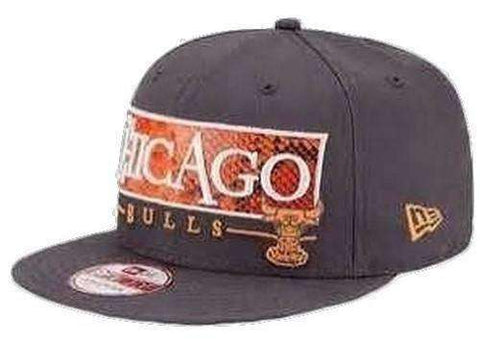 Chicago Bulls Tribal Strapback 9Fifty hat by New Era