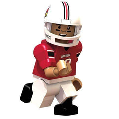 Louisville Cardinals Football Player Minifigure Oyo Sports G1LE NIB Ville NCAA