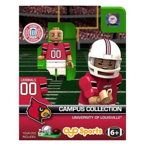 Louisville Cardinals Football Player minifigure by Oyo Sports