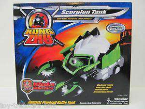 King Zhu Scorpion Tank New in Box Ninja Warriors Toy by Cepia
