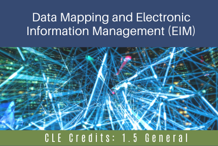 Data Mapping and Electronic Information Management (EIM)