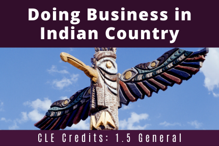 Doing Business in Indian Country