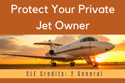Protect Your Private Jet Owner