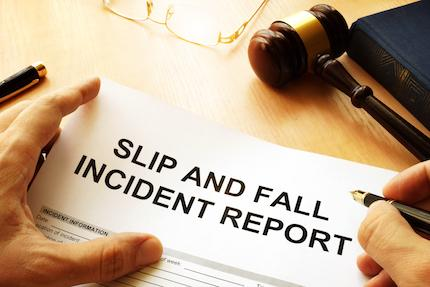 Oops! Slip and Fall Cases: From Sign up to Trial