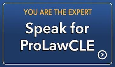 Speak For LawProCLE