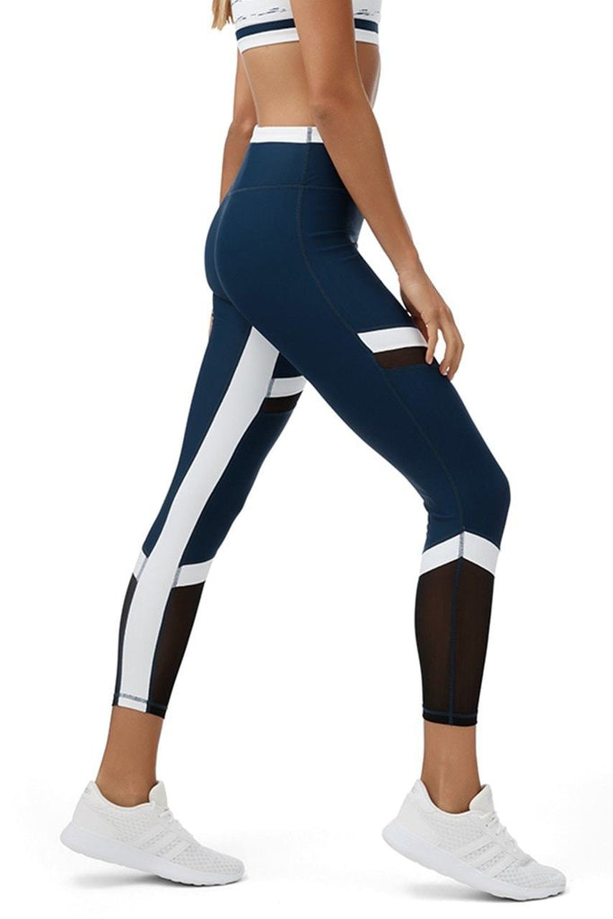 Cora Navy Leggings