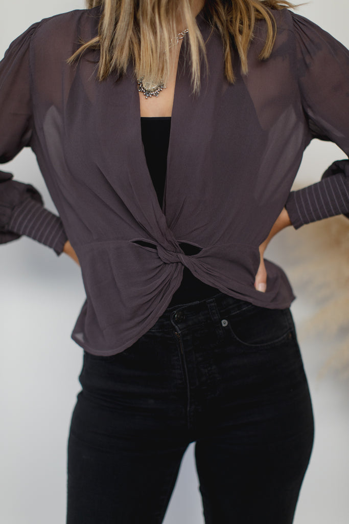 Haty Top - Dark Grey