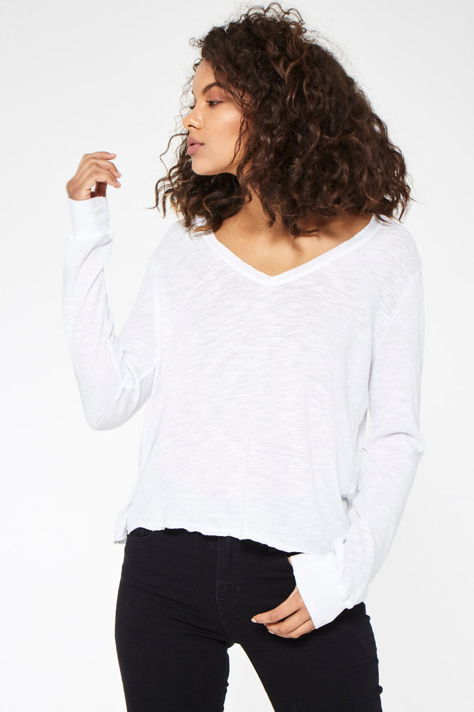 Found My Sass Long Sleeve in White