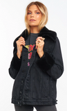 Show Me Your Mumu Denver Denim Jacket- Washed Black