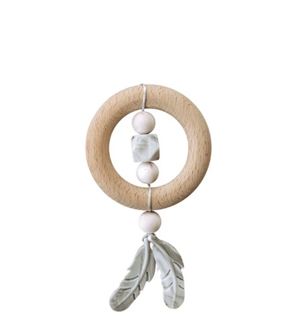 Cloud Macrame Teether