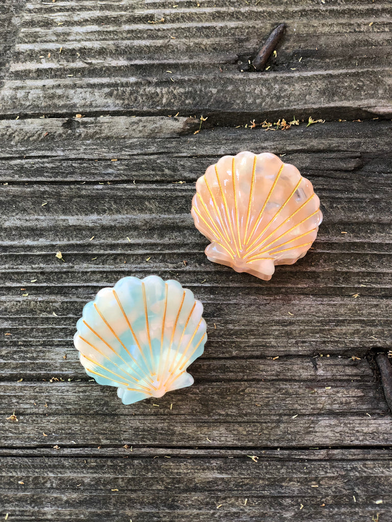 Sea Shell Hair Clip