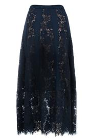 Long Silk Lace Slip Dress