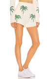 Show Me Your Mumu Boardwalk Shorts- Palm Tree Knit