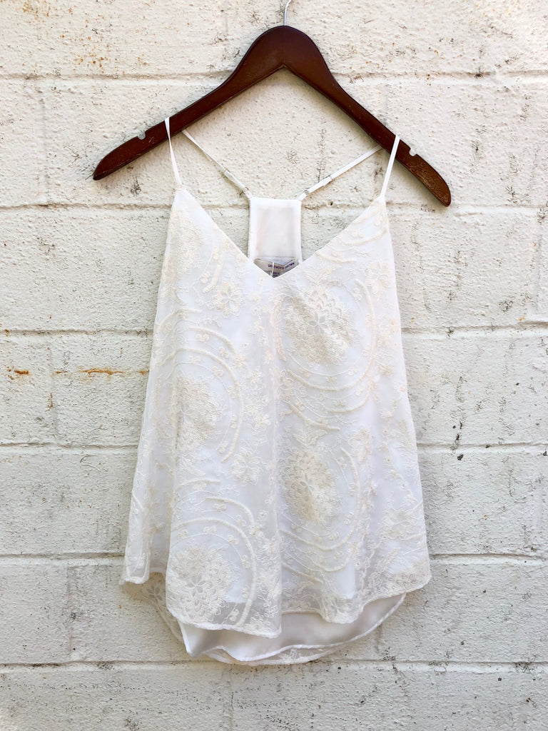 Lavender Brown Bohemian Dream Tank Top