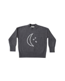 Moon Embroidered Cassidy Sweater