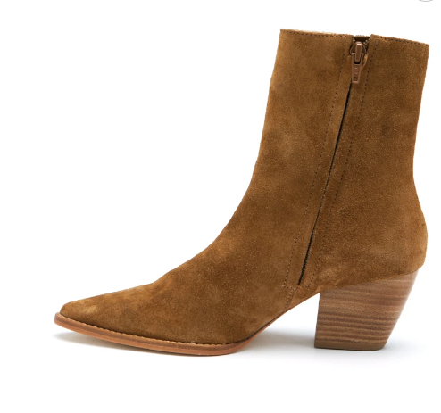 Caty Boot- Fawn Suede
