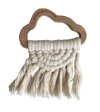 Chewable Charm Cloud Macrame Teether